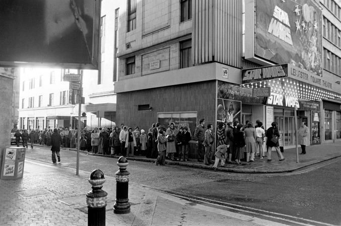 Star Wars - Leicester Square Theatre - London - 1977